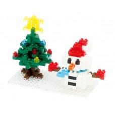 Nano Block Snowman (NAN-NBC064)