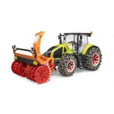 Claas Axion 950 with Snow Chains and Snowblower (03017)