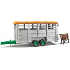 Cattle Trailer With Cow (02029)